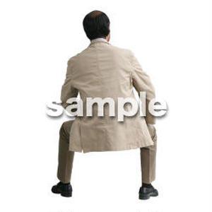 人物切抜き素材 医療・シニア車椅子編 D_237