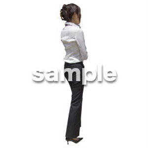人物切抜き素材 ベーシックファッション編 P_149