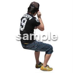 人物切抜き素材 レジャー・ショッピング編 L_488