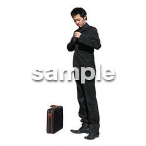 人物切抜き素材 オフィス・フォーマル編 G_087