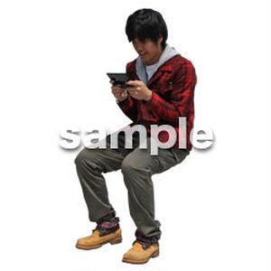 人物切抜き素材 レジャー・ショッピング編 L_491