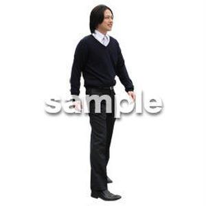 人物切抜き素材 ベーシックファッション編 P_487