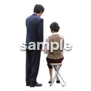 人物切抜き素材 男性女性編 A_059