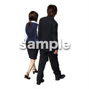 人物切抜き素材 男性女性編 A_049