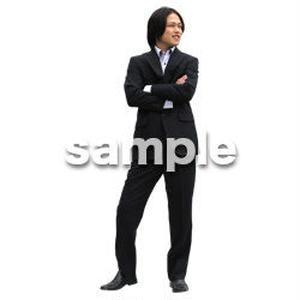 人物切抜き素材 ベーシックファッション編 P_471