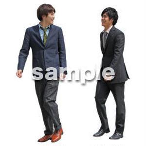 人物切抜き素材 ベーシックファッション編 P_072