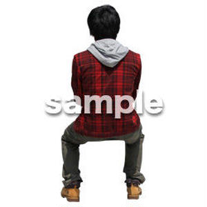 人物切抜き素材 レジャー・ショッピング編 L_494