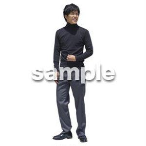 人物切抜き素材 ベーシックファッション編 P_491