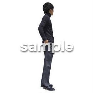 人物切抜き素材 ベーシックファッション編 P_493
