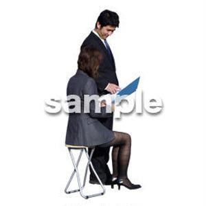 人物切抜き素材 男性女性編 A_068