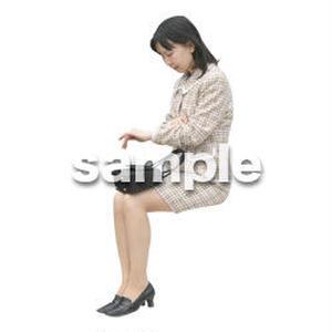 人物切抜き素材 医療・シニア車椅子編 D_230