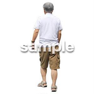 人物切抜き素材 シニアライフ編 R_250