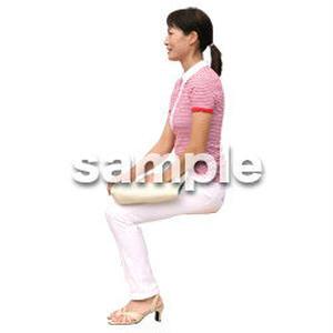 人物切抜き素材 夏服・フィットネス編 J_195