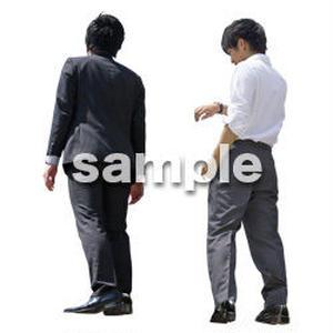 Cutout People ビジネス-日本人 EE_594