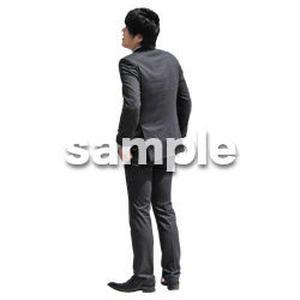 人物切抜き素材 ベーシックファッション編 P_479