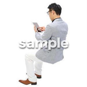 Cutout People ビジネス-日本人 EE_499