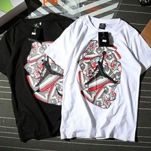再入荷 JordanTシャツ ナイキ ジョーダンTシャツ 男女兼用 シンプル ウィメンズファッション メンズファッション カップル 白黒選択