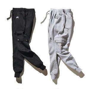 ステューシー/STUSSYパンツ カジュアルパンツ 2色 グレーブラック シンプル ウィメンズファッション メンズファッション