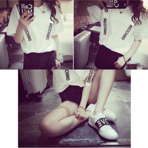 MOSCHINO モスキーノTシャツ 可愛いTシャツ ホワイトとブラック選択★激安 カジュアル ユニセックス 美品