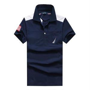 新入荷 ノーティカポロシャツ カジュアルTシャツ ユニセックス シンプル ウィメンズファッション メンズファッション