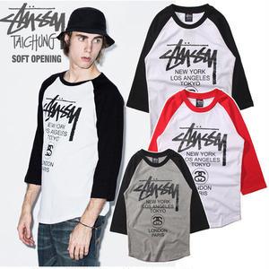 人気新品ステューシー 男女兼用 Tシャツ 可愛い 男女兼用