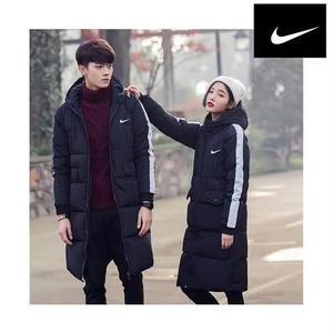 新入荷 Nikeロングコート 軽量  暖かい 中綿ジャケット 防寒着  ナイキジャンパー 冬服 秋冬 ファッション 男女 カップル