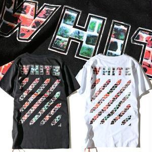 新入荷!オフホワイト半袖 Off-WhiteTシャツ ユニセックス ウィメンズファッション メンズファッション 大人気美品 夏物