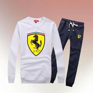新入荷 フェラーリ Ferrari部屋着 トレーナーセットアップ 男女兼用 アウター  カジュアル 上下セット