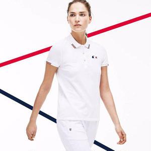 Lacoste 高品質! お買い得 ラコステポロシャツ カジュアルシャツ ユニセックス シンプル ウィメンズファッション 人気美品 上質