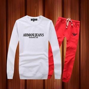 ARMANI セットアップ 長袖トレーナー 男女兼用 アウター  部屋着 アルマーニ