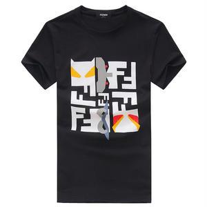 フェンディTシャツ 半袖 男女兼用 送料込 3色選択 FENDITシャツ 可愛い