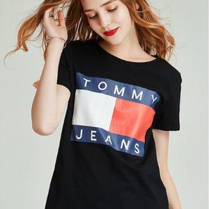 大人気トミーTシャツ 男女兼用 白黒選択 超可愛い 美品
