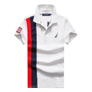 ノーティカポロシャツ カジュアルTシャツ ユニセックス シンプル ウィメンズファッション メンズファッション 高品質