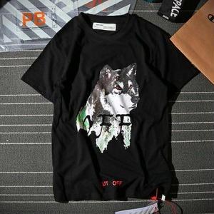 オフホワイト半袖 Off-WhiteTシャツ ユニセックス シンプル ウィメンズファッション メンズファッション