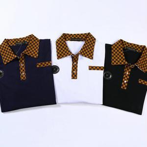 大人気 ルイ・ヴィトンポロ長袖シャツ メンズ愛用 カッコイイ 通勤 高品質 カジュアル ハンサム LouisVuitton