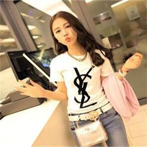 Yves Saint Laurent イヴ・サンローラン 人気Tシャツ半袖 3色選択 アウター シャツ 可愛い