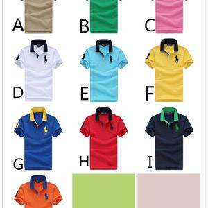 新入荷 大人気10色ポロシャツ 男女兼用9904