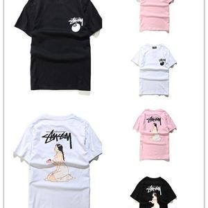 ステューシー/STUSSY 多色 人気Tシャツ 男女兼用 1026