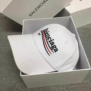 新入荷!バレンシアガキャップ balenciaga帽子 高品質 タグ付き ホワイトブラック選択 可愛い カジュアル シンプル ウィメンズファッション メンズファッション