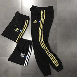 アディダスジョガーパンツ トレーニング カジュアル 男女兼用 adidas 大人気 三本線 2色 ゴルード