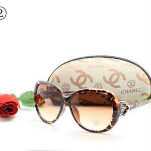 新品メガネ シャネル好きに 可愛い サングラス 多色