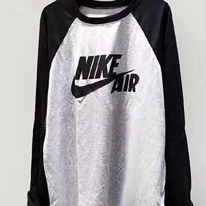 Nike長袖シャツ トレーナー 男女兼用 大人気 ナイキ 高品質 厚手絨 冬 秋新作 可愛い 人気美品 ワンピース兼用