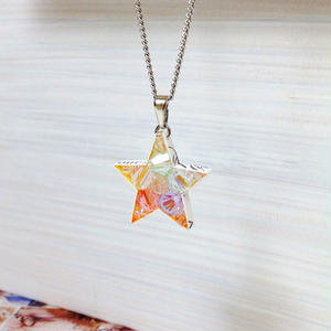 Metrocard necklace メトロカードネックレス/スター・シルバーチェーン