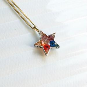 Metrocard necklace メトロカードネックレス/スター・ゴールドチェーン01