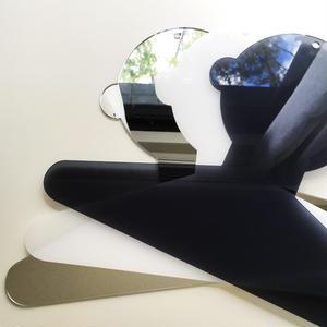 Humanoid hanger 人型ハンガー/ミラー・乳半色・ブルースモークのセット
