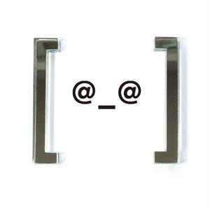 Blacket earrings/[角括弧]のピアス