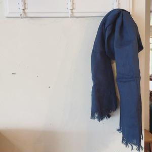 フォグリネンワーク fog linen work  ロセリエ スカーフ           【PEACOCK】