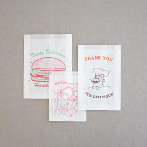 台湾 紙袋セット(30枚入り)
