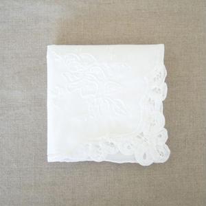 スワトウ刺繍ハンカチ h