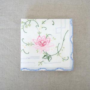 スワトウ刺繍ハンカチ c